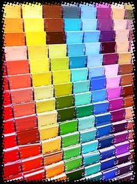 Ways to use paint swatches in the classroom....the comments section has even more ideas!!!