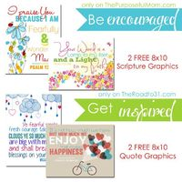 FREE Printable Designer Graphics for the Christian Home - The Purposeful Mom