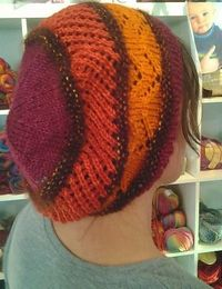 Anthropologie inspired Bohemian slouch hat free pattern by Benjamin Matthews