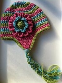 """Ravelry: The """"Cutest"""" Earflap Hat Ever!! pattern by Christine Longe"""