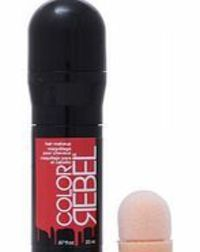 Redken Color Rebel Hair Makeup Rebel without a Trendy hair makeup and temporary hair color with a sponge applicator. Easy application and dries fast. Washes out in 2 shampoos on average. To use: Open cap. Remove plug, discard. Push in sponge compl http://...