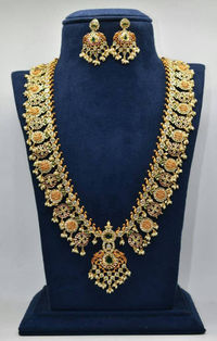 Gorgeous Indian ramparivar long necklace $200.00
