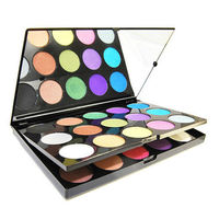 15 COLORS GLITTER EYE SHADOW PALETTE COSMETICS MAKEUP Price:$28.99 Style: Beauty  Color: As picture