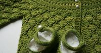Ravelry: lucille baby cardigan (free pattern) 0-9 months
