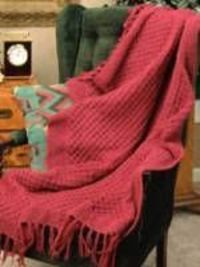 Free Knitting Pattern: Raspberry Knitted Afghan