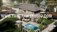 exterior rendering service of bungalow with pool area.jpeg