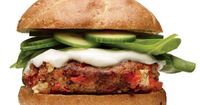 Red Pepper and Feta Turkey Burger http://www.womenshealthmag.com/nutrition/roasted-red-pepper-recipe-with-feta