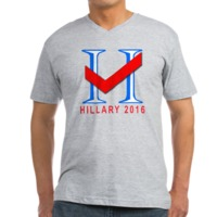 Vote for Hillary 2016 Men's V-Neck T-Shirt