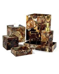 Petrified Wood Bath Collection by Mike + Ally $900.00