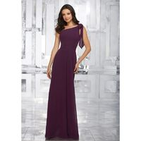 Morilee Bridesmaids 21539 Chiffon One Shoulder Bridesmaid Dress - Crazy Sale Bridal Dresses|Special Wedding Dresses|Unique 2018 New Style Dresses
