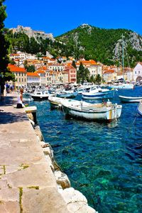 Hvar Croatia - THE hot-spot for vacationing in the Croatian Dalmatian islands with clear-blue water, a fort to explore, and a sizzling night-life.