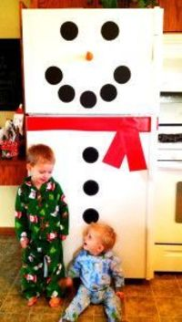 Frosty the Snowman Fridge Decorations #holidayideaexchange