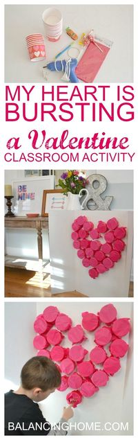 Saturday morning I whipped up this fun and completely reusable Valentine classroom activity. This little number doubles as an activity and Quinn's valentines. T