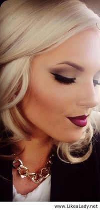 this makeup is beautiful, and the lip liner looks especially good