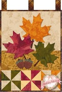Little Blessings - Autumn Glitz Laser Cut Kit: Little Blessings Wallhanging Club available here - receive all 12 kits and get free shipping! Let the Little Blessings bring you cheer all year long! Jennifer Bosworth of Shabby Fabrics has created this wallh...