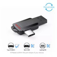 DISAIN Type-c Mobile Phone U Disk USB3.0 Dual Interface Design Support Positive and Negative Blind Insertion USB Flash Drive