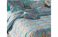 Manuel Canovas Caribes Bedding Duvet Cover Single Featuring a unique and exclusive tropical fish in an open sea print the Caribes Bedding is made out of luxury 100% cotton and promotes a sense of the deep depths creating a cool and relaxed effect in h...