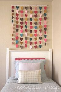 """Check out """"DIY Paper Heart Wall Art"""" Decalz"""