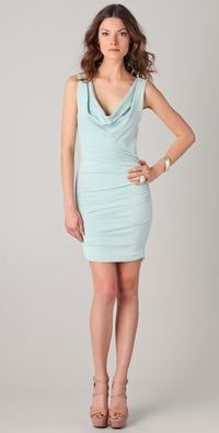 Alice + Olivia Esme Dress with Ruched Sides $297