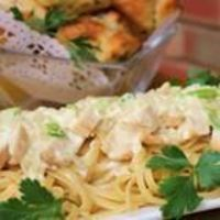 Thought my daughter-in-law would like this chicken and garlic recipe since Son will now eat cooked onions! Another promising recipe from allrecipes.com.