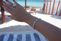 Sterling Silver Luxury Tennis Bracelet $140.00
