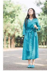 Green linen dress, Linen dress, Maxi dress, Maxi linen dress, Princess dress, Oversized dress, Summer linen dresses, Large size dress