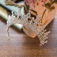 PREORDER Elegant Vintage Crystal Bridal Wedding Pageant Tiara Crown $52.00