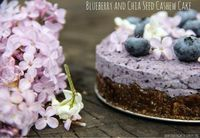 Easy raw and vegan cake; perfect for special occasions but easy enough for an every day dessert.