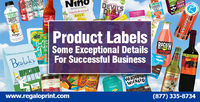 Product Labels Some Exceptional Details #RegaloPrint #printing #labels #labelsprinting #customlabels #printedlabels
