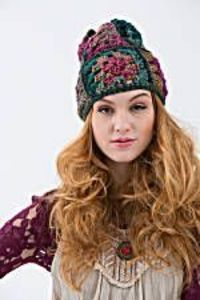 Love making granny squares? Crochet this slouchy hat with Unique and Heartland to make a classic design technique trendy. Make a matching sweater for your dog to show people you were made for each other.