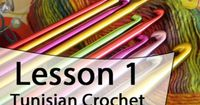 Learn how to Tunisian Crochet with Mikey. Mikey's video series will take you through the basics showing you exactly what to do. Lesson 1