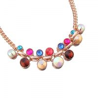 Get this beautiful colourful gem necklace set from the leading wholesaler of colourful necklaces in manchester.