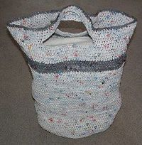 Plarn Laundry Basket