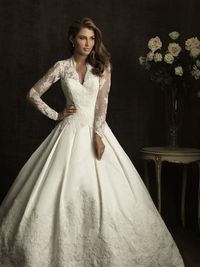 Here's another Kate inspired princess wedding dress