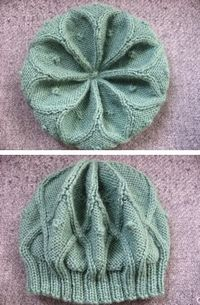 Download a free knitting hat pattern for a Rangoli hat