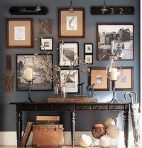 Gallery walls are so much fun. So many ways to make it your own.