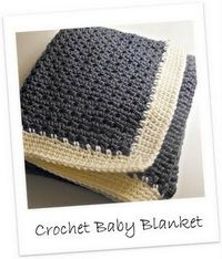 {Crochet Baby Afghan- gift for a friend}