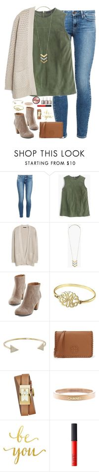 """""""sometimes you can't explain what you see in a a person. it's just the way they take you to a place that no one else can."""" by kaley-ii � liked on Polyvore featuring Paige Denim, J.Crew, MANGO, Madewell, Alison & Ivy, Michael Kors, T..."""