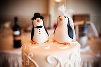"""you had better believe that these will be my cake toppers to accompany my """"perfect pebble"""""""