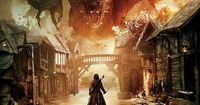 Battle of the Five Armies movie poster/2014