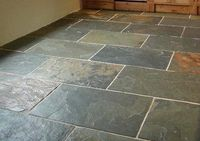Gray green slate - traditional - floor tiles - by Westone