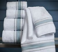 Parallele Embroidered Bath Towels by Dea Linens $73.00