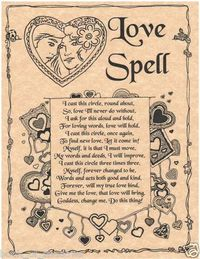 Book of shadows spells pages