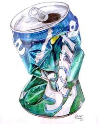 crushed can More