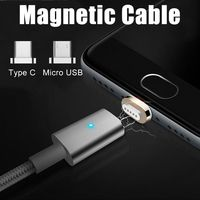 Magnetic Type-C Micro USB Fast Charging Cable $15.00