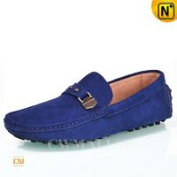 CWMALLS® Designer Suede Driving Loafers CW707112