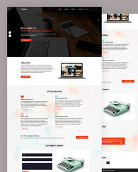 """https://html.design/download/content-writing-website-template/ Fregg �€"""" Free Content Writing Website Template ideal for SEO marketing, digital web agency, SMO marketing or any online related marketing service you provide to your customer."""
