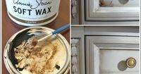 How To Use AS Waxes - awesome post that clearly explains how to wax furniture! + How To Cover A Scratch.