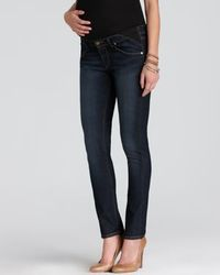 Paige Maternity Jeans - Union Skyline Ankle Peg in Carson