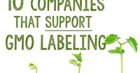 10 Companies that SUPPORT GMO Labeling.
